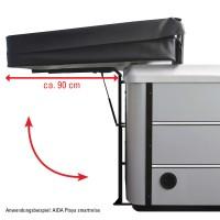 Coverlifter Flex zum Öffnen/Schließen und Verstauen von Whirlpoolabdeckungen