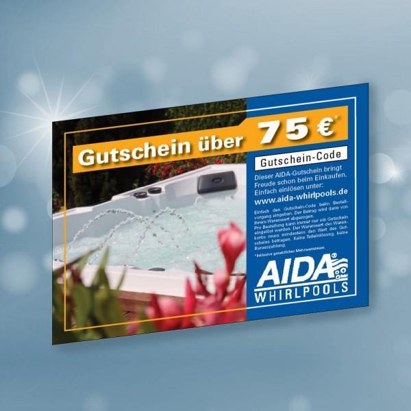 AIDA Einkaufsgutschein 75 €