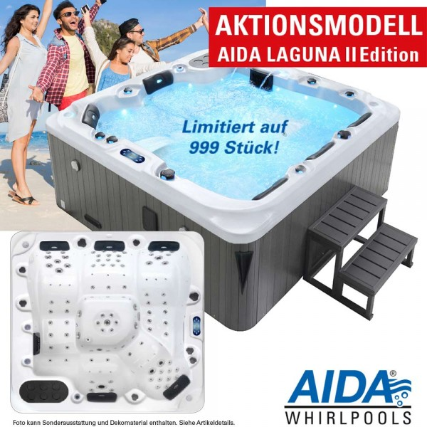 Aktionsmodell AIDA LAGUNA II Edition Whirlpool outdoor (5-6 Pers)
