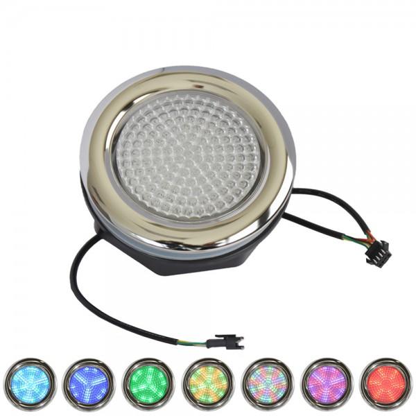 """Multicolor Unterwasserleuchte 5"""" LED"""