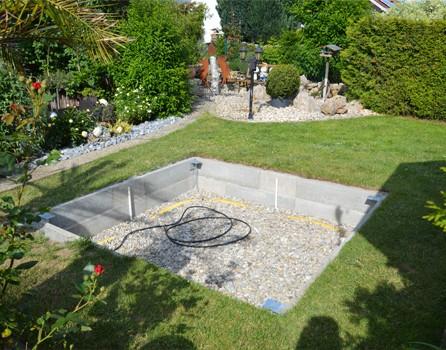 Whirlpool aufstellen im Garten | AIDA GmbH