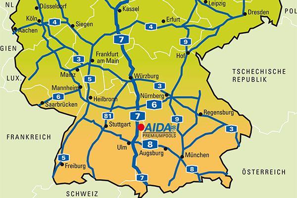 Whirlpools kauft man mitten in Süddeutschland