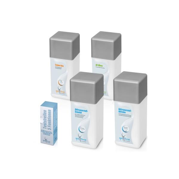 Kleines Starterset für chlorfreie Wasserpflege
