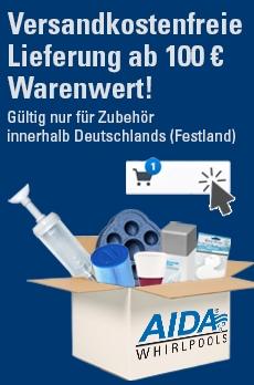 Versandkostenfreie Lieferung an 100 €