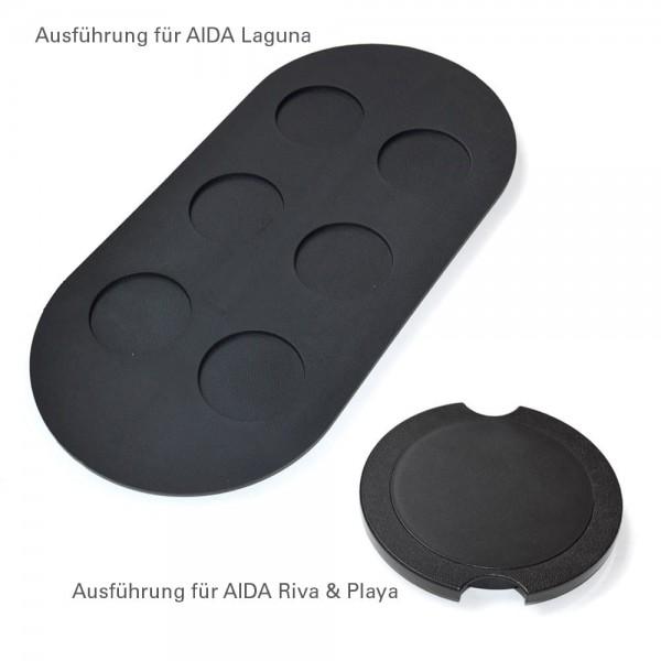 Eisbox-Abdeckungen für AIDA Whirlpools (Laguna, Riva und Playa)