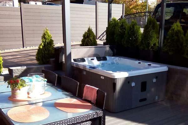 Referenzen Outdoor Whirlpools | AIDA GmbH