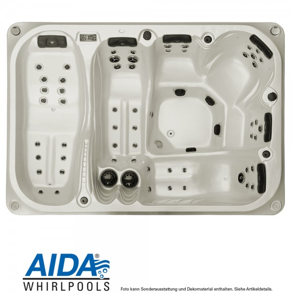 AIDA ROYAL II Whirlpool outdoor (6 Personen)