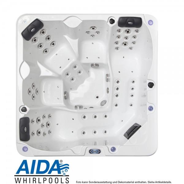 kompakter whirlpool für 5 personen: aida samoa | whirlpool außen, Innedesign