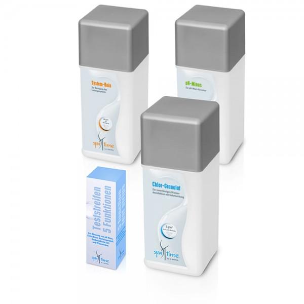 Kleines Chlor-Starterset für Wasserpflege