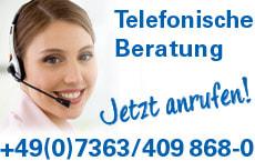 Banner-Anrufservice
